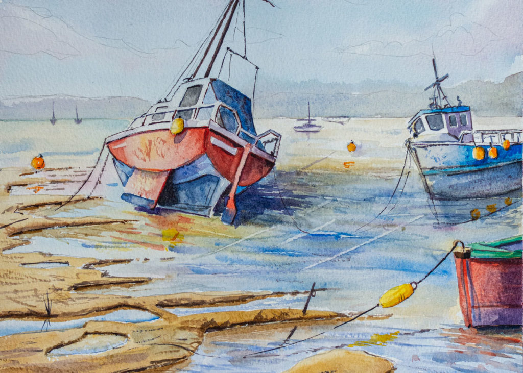 Boats on the River Teign