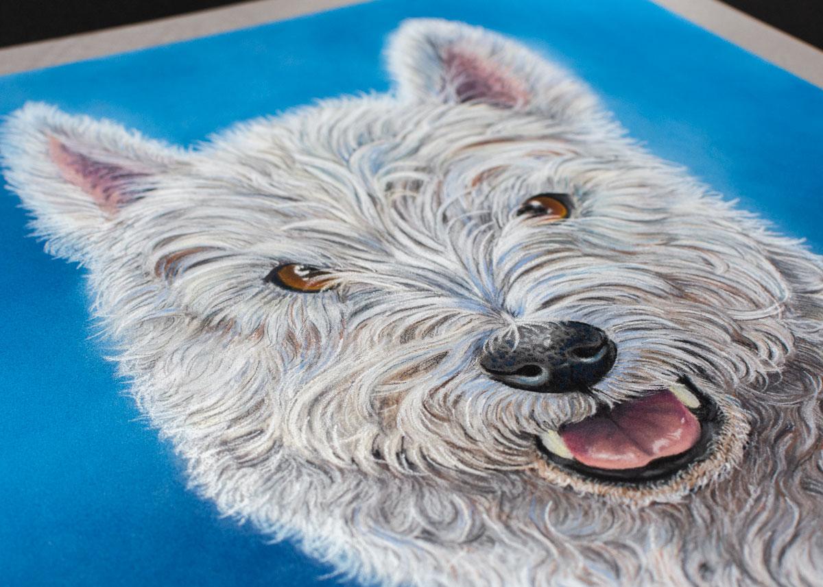 The Devon Painter, Freddy Pastel commission